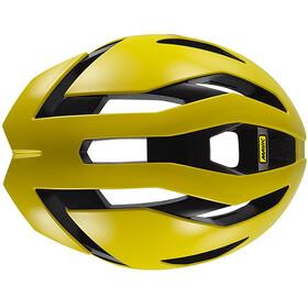 Mavic Comete Ultimate Kask rowerowy Mężczyźni żółty/czarny